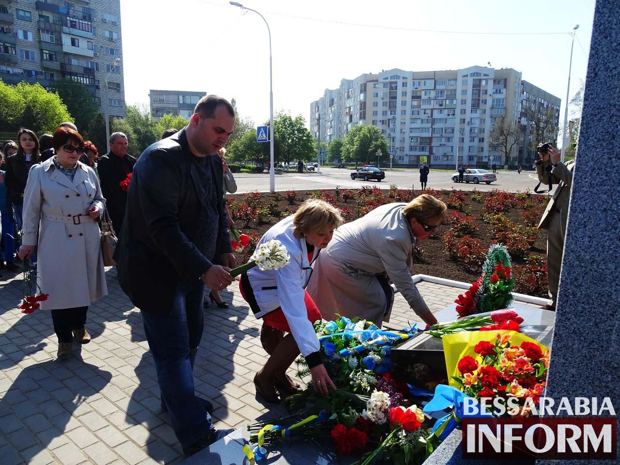 rTFdiP_og4g Измаил почтил память героев-ликвидаторов Чернобыльской катастрофы (фото)