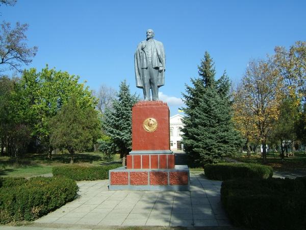 В Рени придумали, чем заменить памятник Ленину