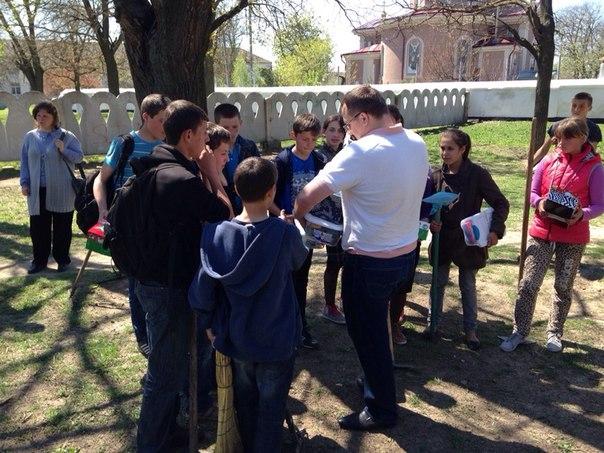 tvMKiyxelEU В селе Шевченково Килийского р-на прошел традиционный субботник