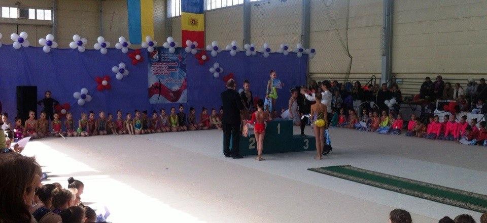 vaDMWn9Twmw Измаильские гимнастки представляли Украину на международном турнире