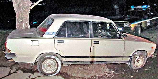 vaz2105 Автомобильный разбой в Измаиле