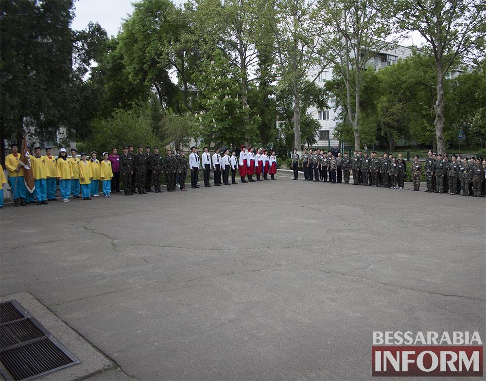 Без-имени-11-1 Измаильские школьники провели военно-патриотические соревнования