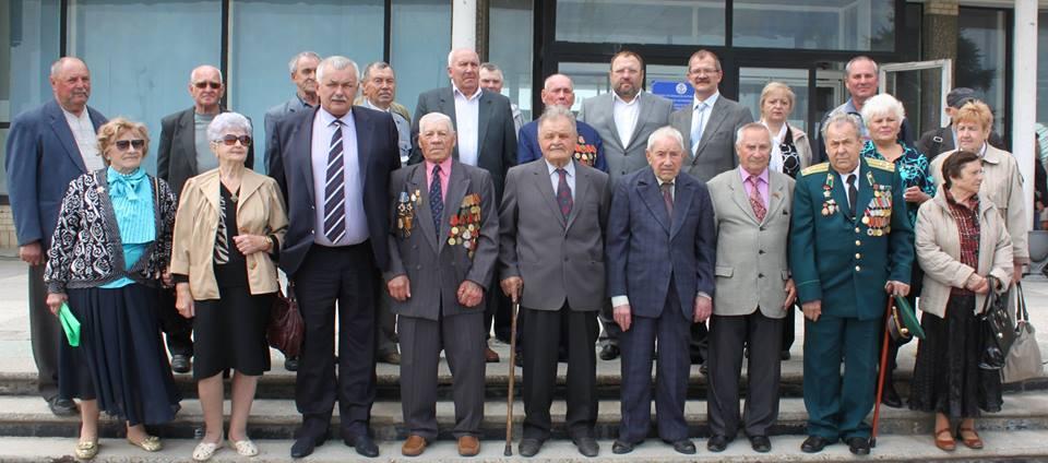 ветераны В Измаильском торговом порту чествовали ветеранов