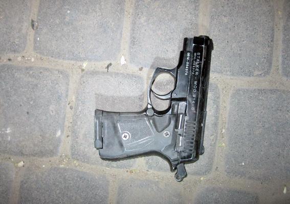 пистолет В Аккермане ранен сотрудник милиции