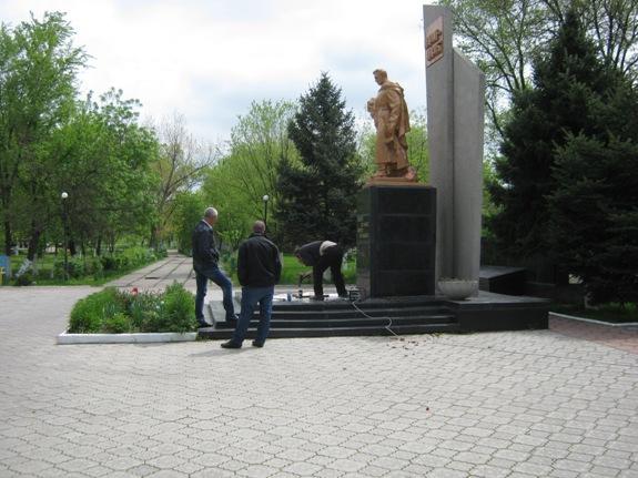 В Арцизе восстановили памятник погибшим воинам