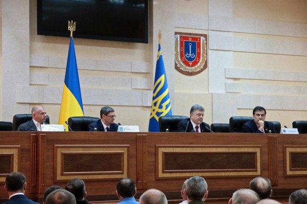 саакашвили-порошенко Порошенко вспомнил о Бессарабии
