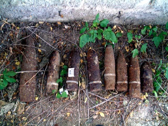 Жители Бессарабии продолжают находить взрывоопасные предметы