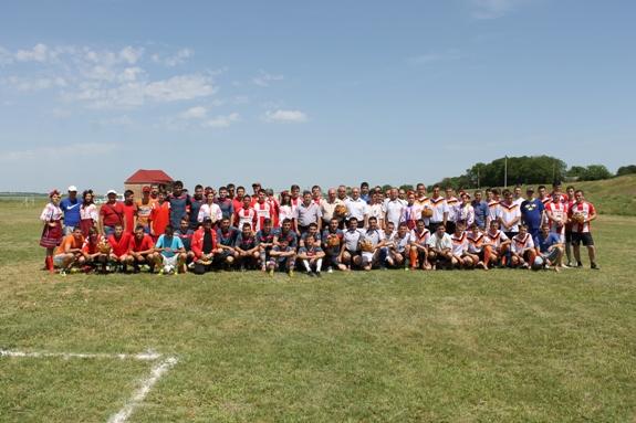 В Измаильском р-не прошел футбольный турнир за кубок Бессарабии