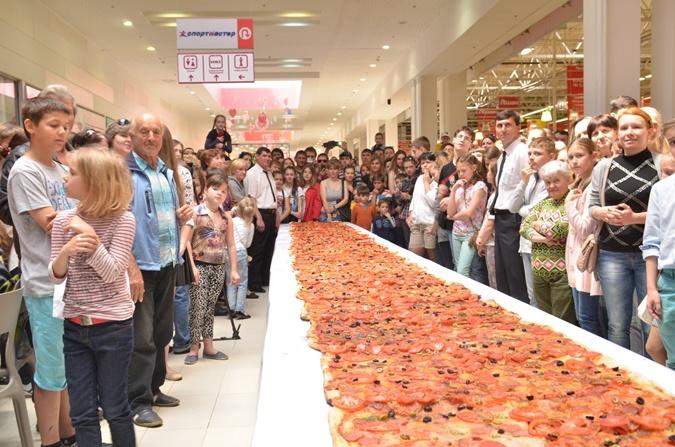 24070514 Одесская пицца попала в Книгу рекордов