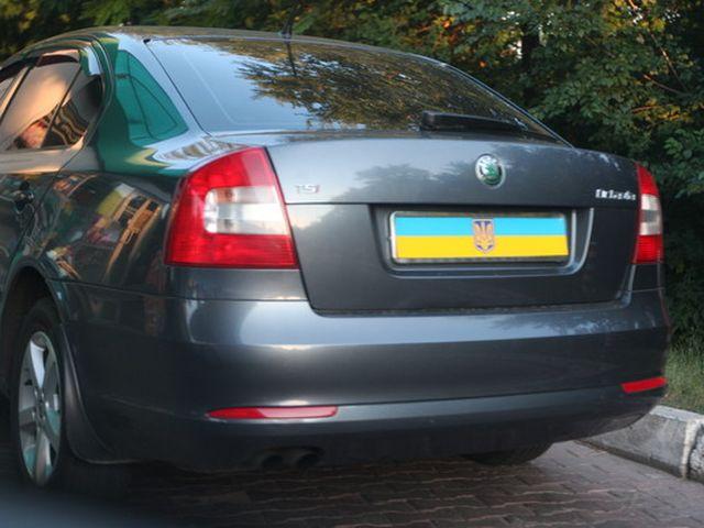 351134 Автомобилистов будут наказывать за скрытые номерные знаки