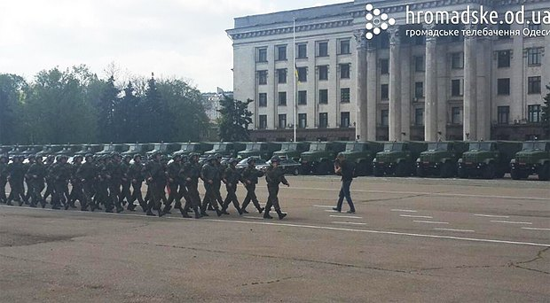 55436b996eefa К 2 мая в Одессу стянули силовиков для предотвращения террактов
