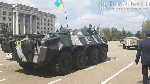 55436c0027690 К 2 мая в Одессу стянули силовиков для предотвращения террактов