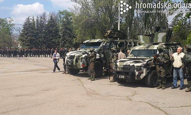 55436c1ca0333 К 2 мая в Одессу стянули силовиков для предотвращения террактов