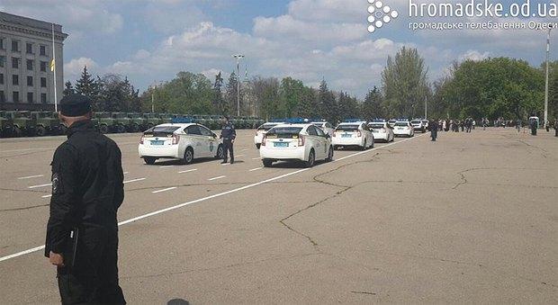 55436c48e5b2d К 2 мая в Одессу стянули силовиков для предотвращения террактов