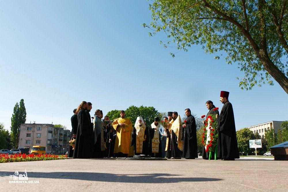 73O9691 В Измаиле почтили память героев Второй мировой войны