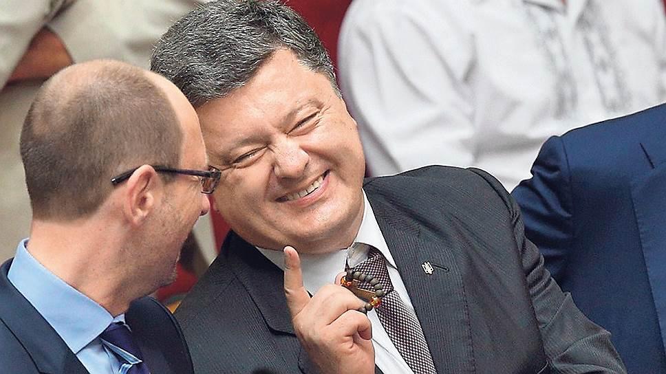96814 Влиятельная газета рассказала о деятельности режима Порошенко-Яценюка