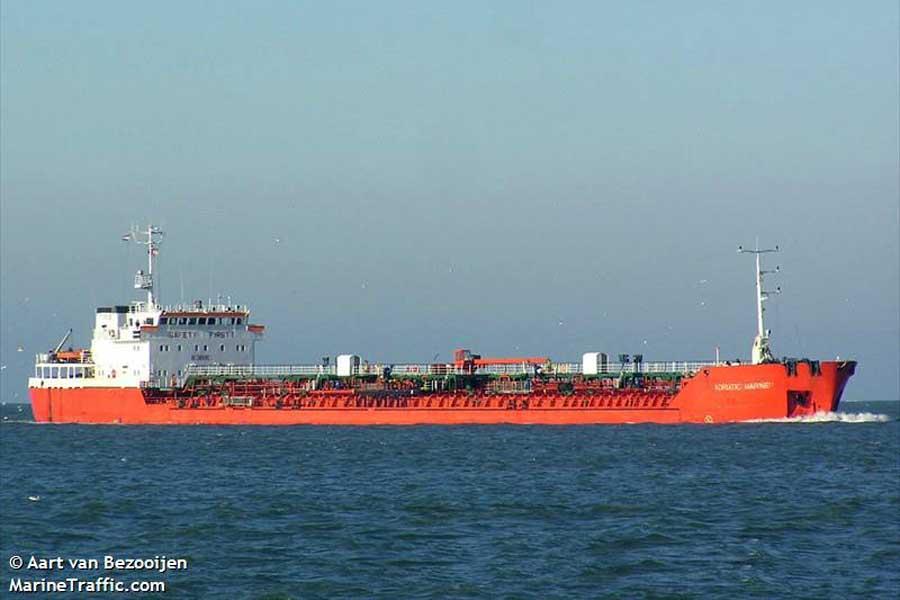 ADRIATIC_MARINER Задержанный в Измаиле танкер перевозил контрабандное топливо