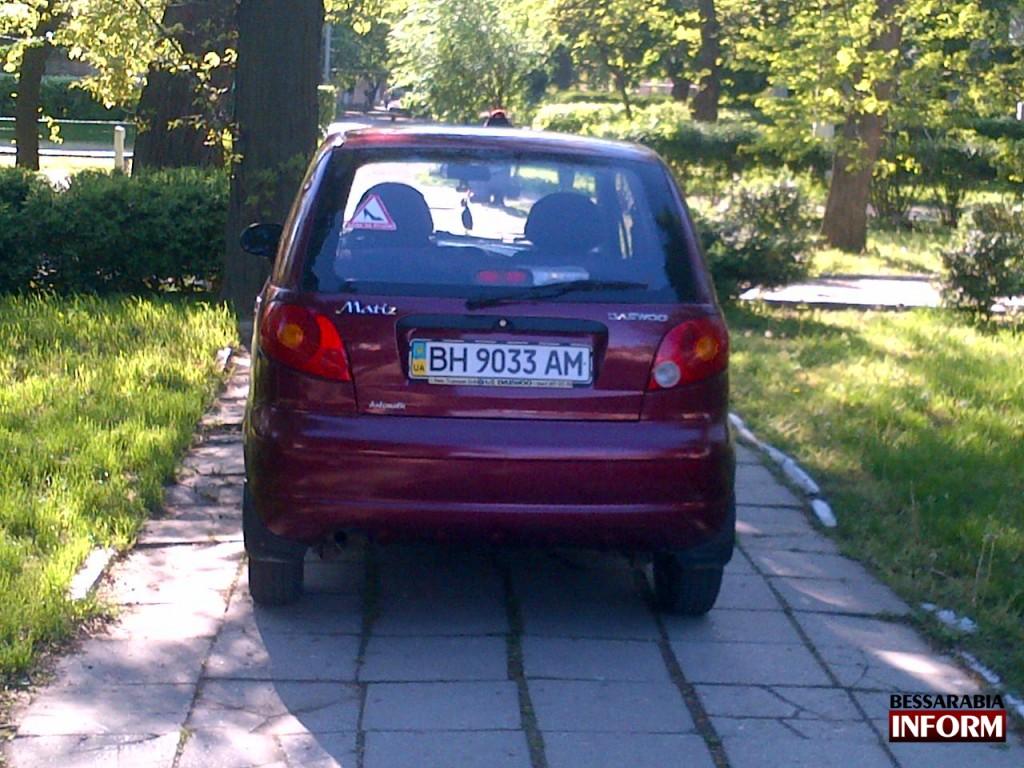 Daewoo Matiz в рубрике «Я паркуюсь как дурак»