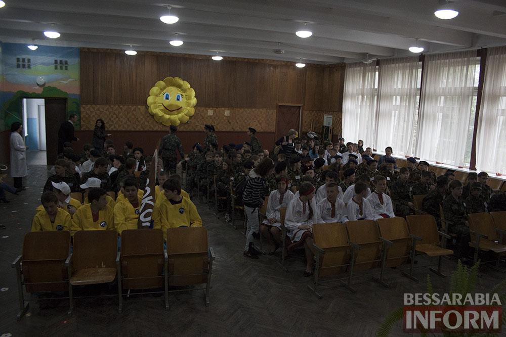 IMG_7824 Ливень помешал измаильским школьникам провести соревнования
