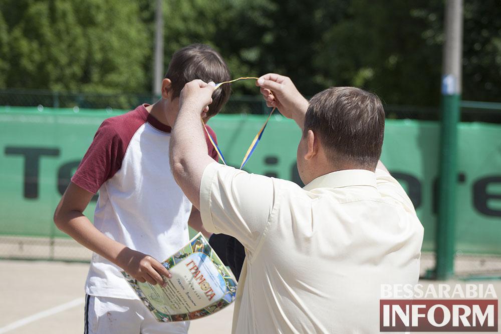 IMG_9561 В Измаиле  завершился юношеский теннисный турнир «Червона Рута»