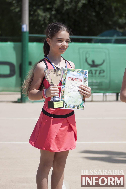 IMG_9590 В Измаиле  завершился юношеский теннисный турнир «Червона Рута»