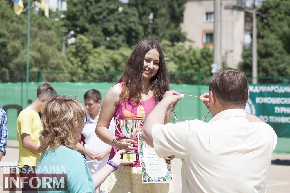 IMG_9606 В Измаиле  завершился юношеский теннисный турнир «Червона Рута»