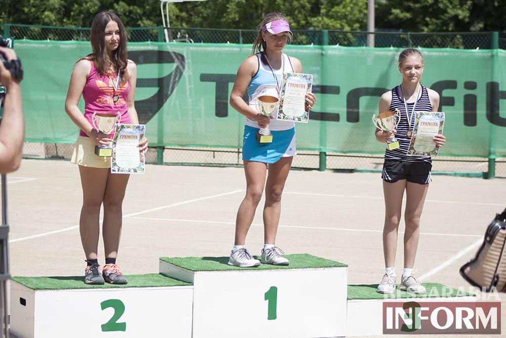 IMG_9616 В Измаиле  завершился юношеский теннисный турнир «Червона Рута»