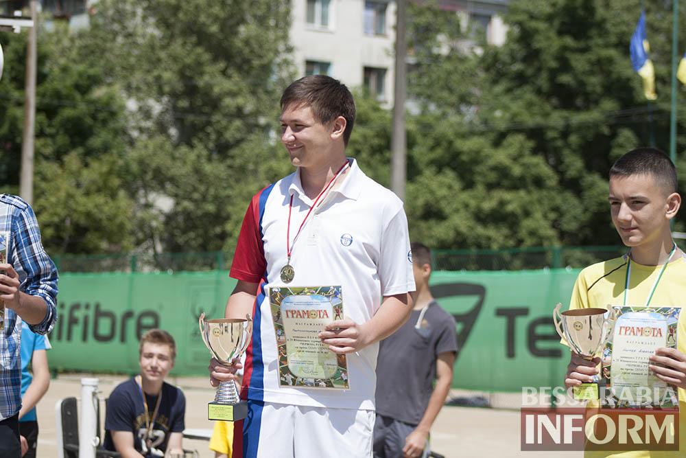 IMG_9631 В Измаиле  завершился юношеский теннисный турнир «Червона Рута»