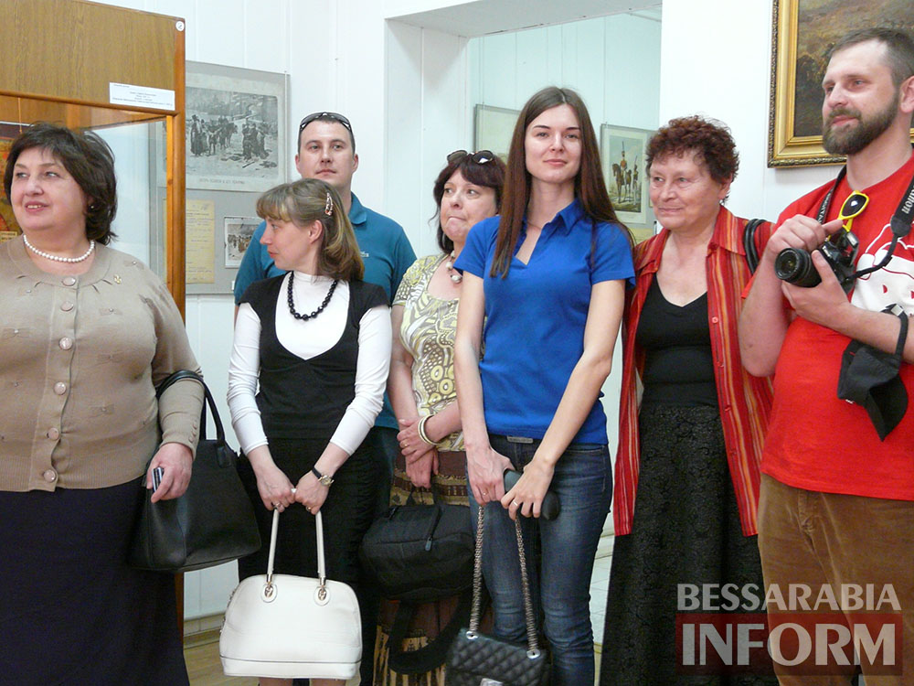 P1050007 Измаил: ко Дню музеев открылась выставка отреставрированных экспонатов