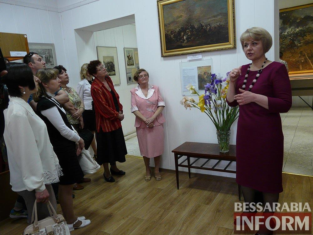 P1050043 Измаил: ко Дню музеев открылась выставка отреставрированных экспонатов