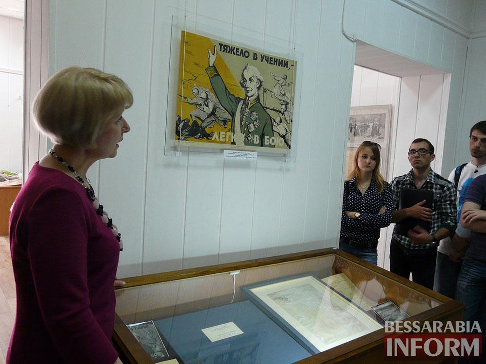 P1050089 Измаил: ко Дню музеев открылась выставка отреставрированных экспонатов
