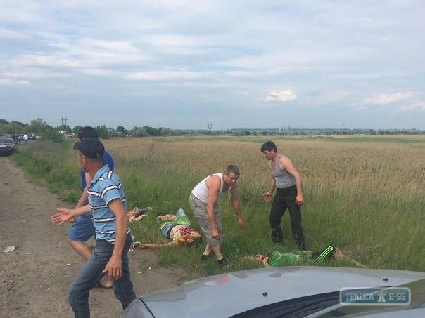 X62jyu_UOoU ДТП на трассе Одесса-Рени, пострадали шесть человек