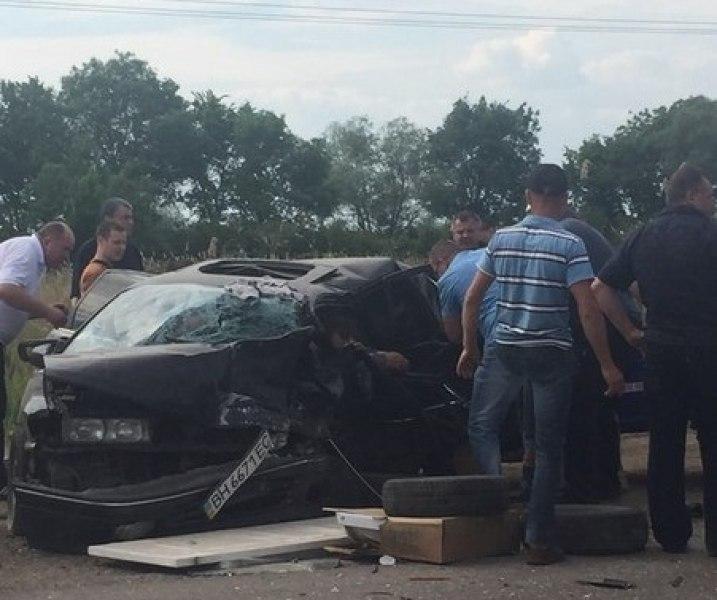 ДТП на трассе Одесса-Рени, пострадали шесть человек