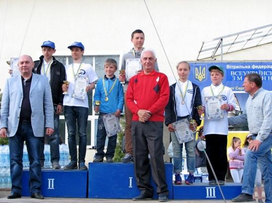 a12-1431005322 В Сергеевке прошла Всеукраинская молодежная регата (фото)