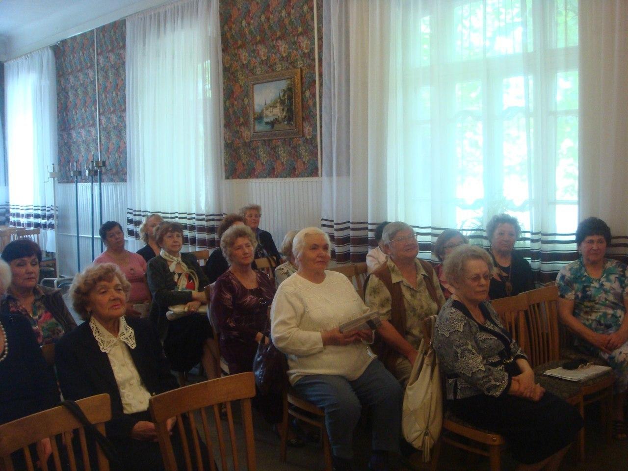 В Измаиле прошло заседание ветеранов педагогического труда
