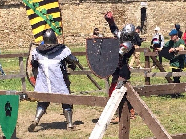crk-9HrfuIE В Аккермане состоялся рыцарский турнир