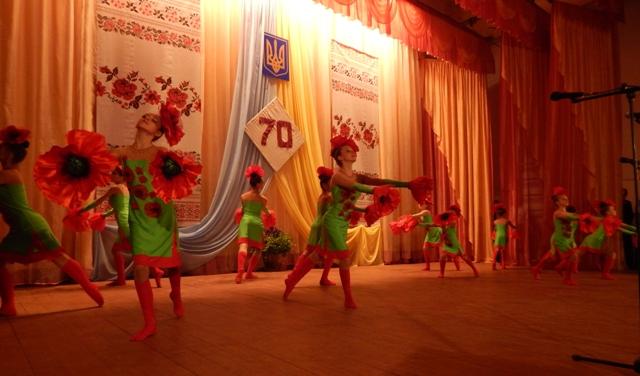 В Утконосовке отметили 70-ю годовщину Великой Победы