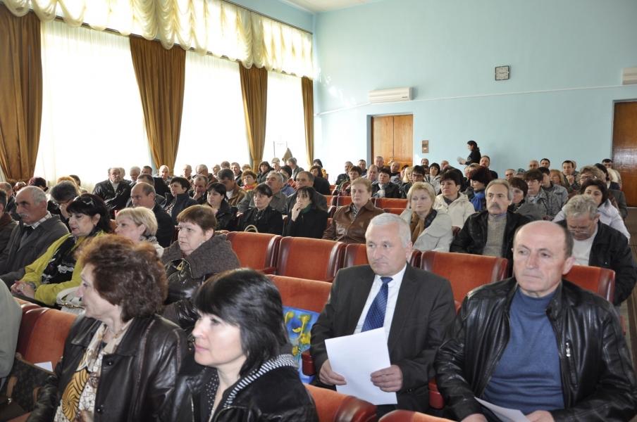 В Болграде обсуждали объединение громад