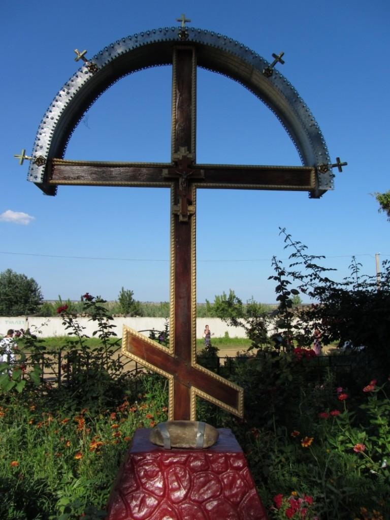Облсовет подарил селу Кулевча газонокосилку