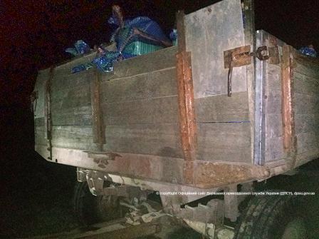 Измаильские пограничники задержали контрабандистов