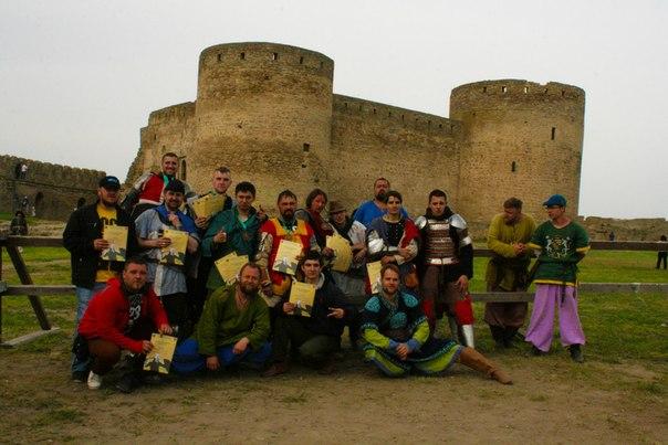 pezp5LbRYlU В Аккермане состоялся рыцарский турнир