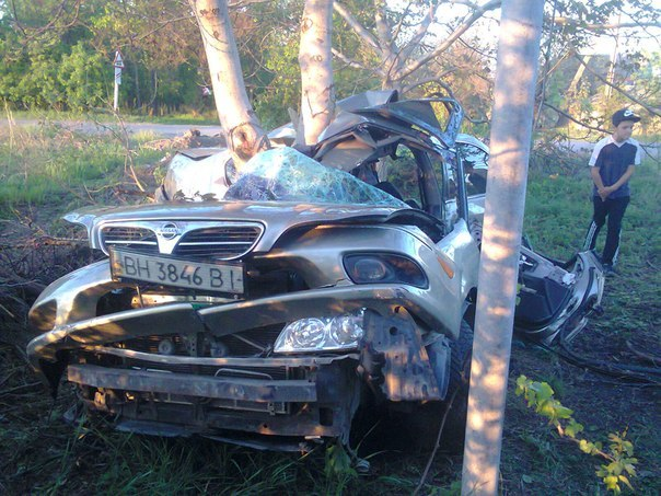 В Измаиле произошло серьезное ДТП из-за выбоины на дороге