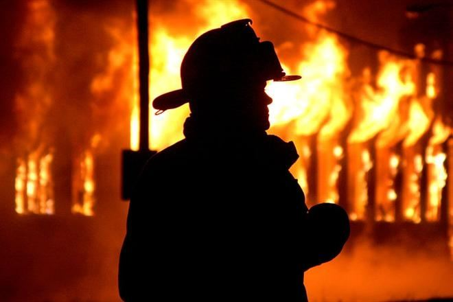 В Килийском р-не произошел масштабный пожар