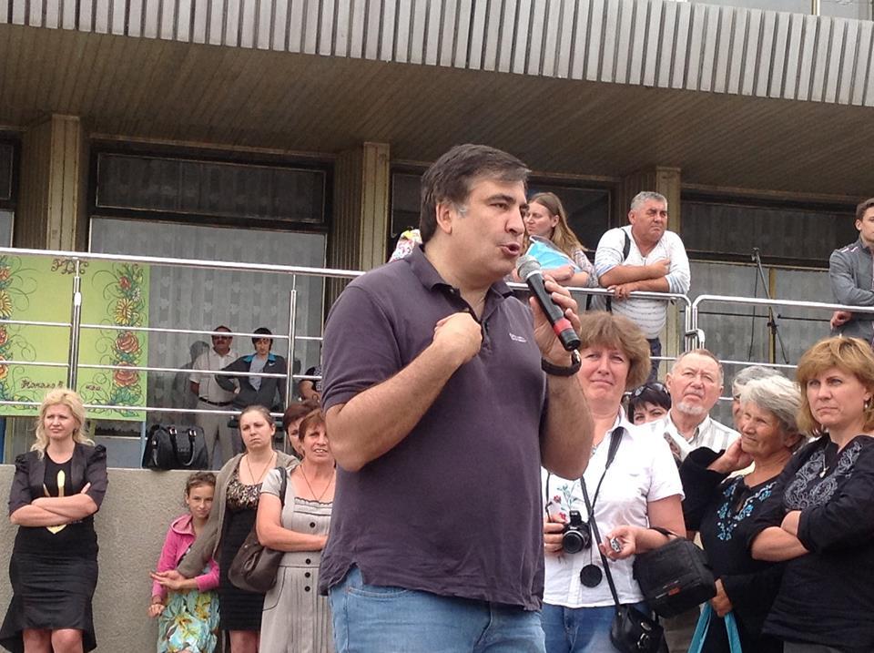 саакашвили-татарбунары Саакашвили шокировал жителей Татарбунар