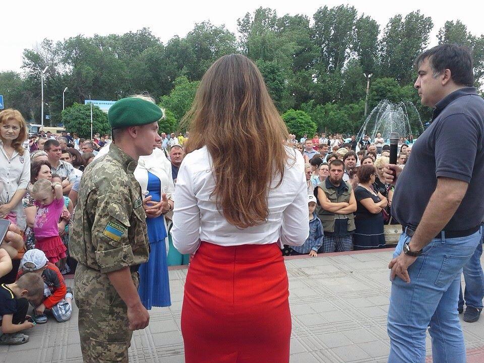 Саакашвили шокировал жителей Татарбунар