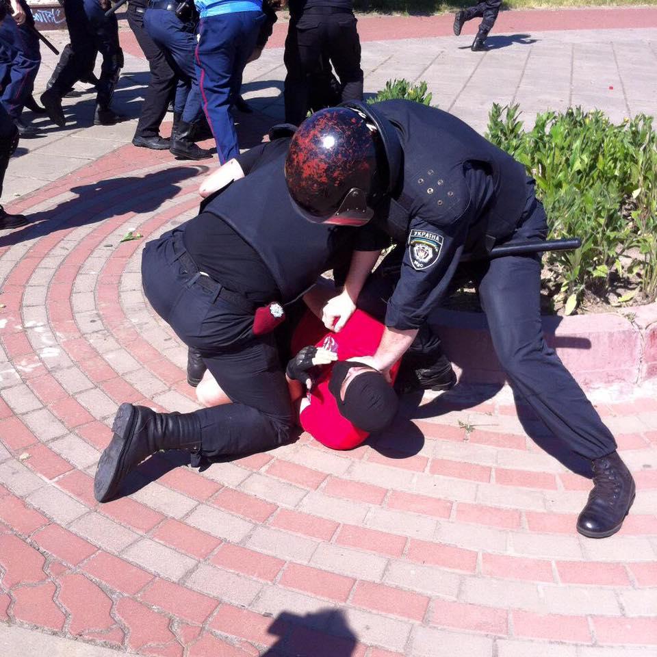В Киеве прошел гей-парад: есть пострадавшие и задержанные (фото)