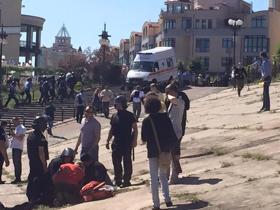 11401443_831274870295458_5914262045369643054_n В Киеве прошел гей-парад: есть пострадавшие и задержанные (фото)