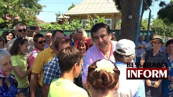 Губернатор посетил Вилково