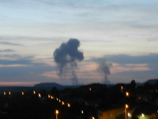 80de00563af1574a10a28199f8cfebe4 В Донецке прогремел мощнейший взрыв (добавлены фото)