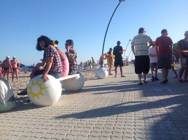 BYtiCgDAKV0 Михаил Саакашвили принял участие в открытии набережной в Затоке